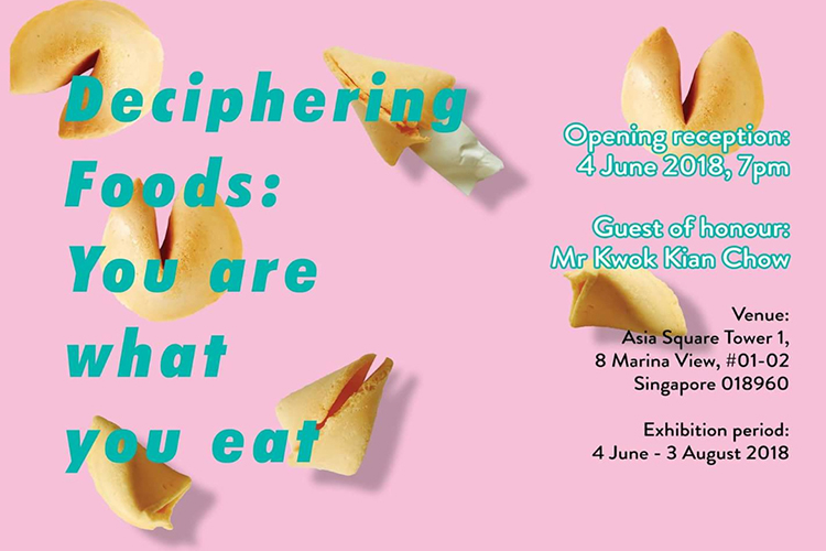 "Bakudapan Participation on ""Deciphering Food : You Are What You Eat"" Exhibition, Singapore"