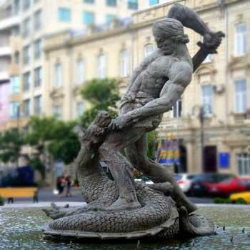Bahram Gur Statue