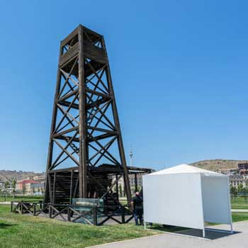 The World's First-ever Mechanically Drilled Oil Well / World's First Oil Well)/ Bibi-Heybat, Baku.