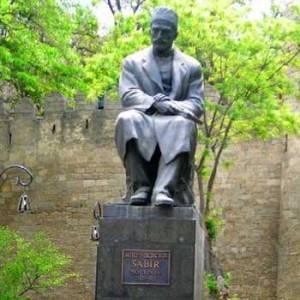 Monument To Mirza Alakbar Sabir