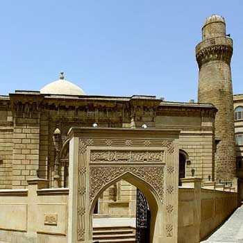 Juma Mosque Baku, Azerbaijan. Friday Mosque Baku