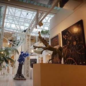 Museum Of Modern Art In Baku, Azerbaijan