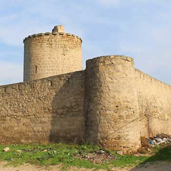Nardaran Tower. Nardaran Castle In Baku, Azerbaijan