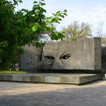 Monument To Richard Sorge In Baku, Azerbaijan. Richard Zorge Monument