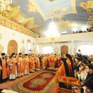 Cathedral Of The Holy Myrrh-Bearers Baku. Russian Orthodox Church