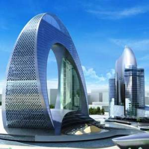 Crescent Baku Hotel. Crescent Development Project. Crescent Bay Baku