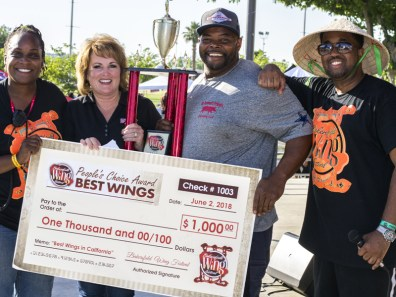 Wing Champ Leon Denweed