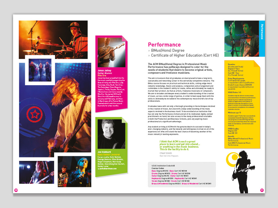 Prospectus Layout Design Example 2014 Dave Balfourdave