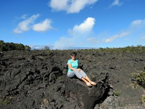 1974 Lava Flow at Chain of Craters Road