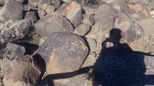 Petroglyphs at Signal Hill
