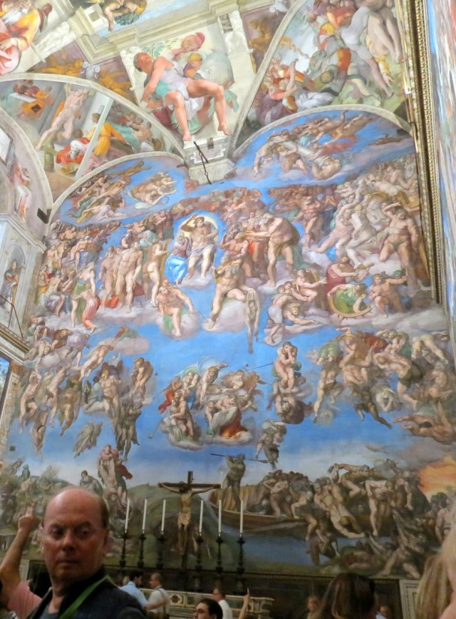 And another stolen photo of the last judgement