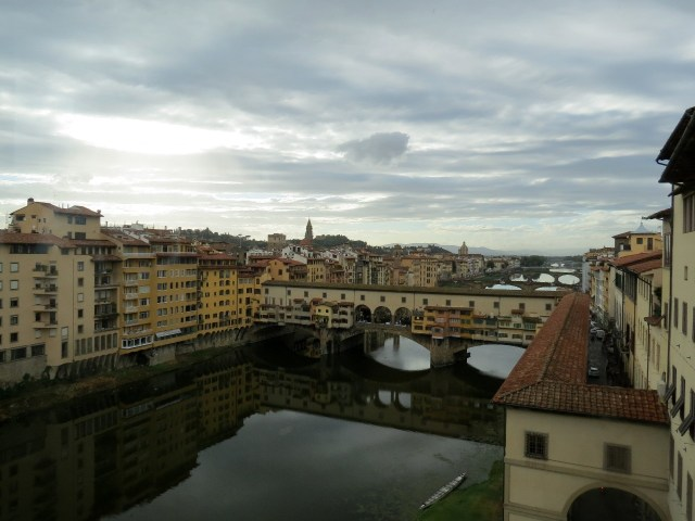 Ponte Vecchio from the Uffizi