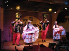 Dinner and entertainment at Don Antonio's
