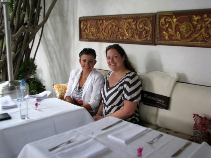 Lunch at Museo Larco
