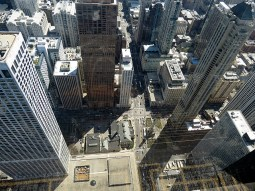 Looking 95 floors down