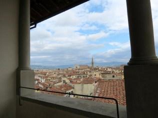 Terrace at Palazzo Vecchio