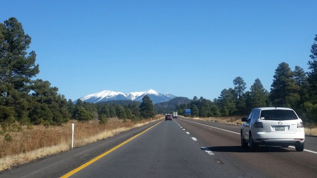Getting close to Flagstaff!