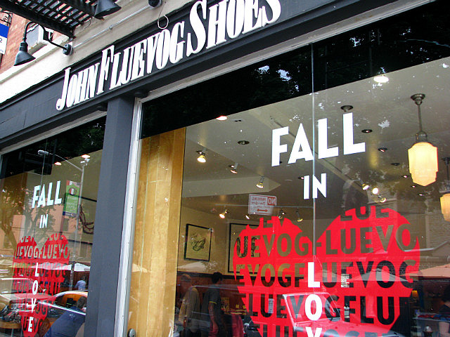 Made it to the Fluevog store in Nolita