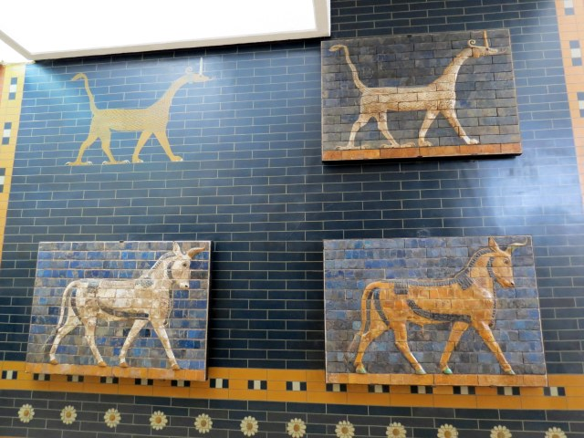 A piece from the Ishtar gate