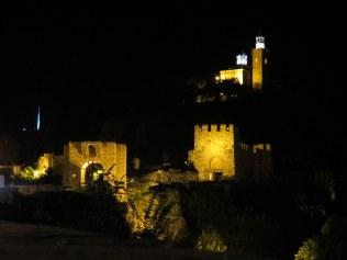 Tzarevetz at night