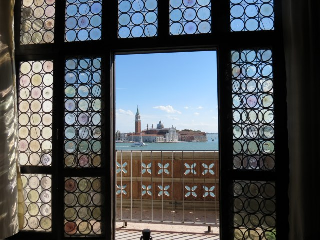 View toward San Giorgio Maggiore from Doge's palace