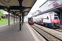Contraste d'époques - Zürcher Museums-Bahn - Suisse