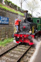 Locomotive à vapeur - Zürcher Museums-Bahn - Suisse