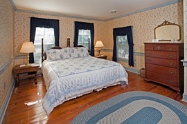 Primrose guestroom at the Baladerry Inn, Gettysburg