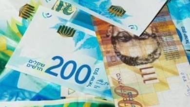 صورة اسعار العملات مقابل الشيكل
