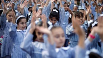صورة تعليم أونروا بغزة توضح بالنسبة لفتح المدارس للمرحلة الابتدائية