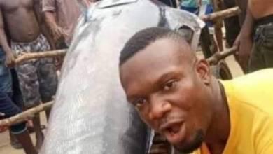صورة الأسوأ حظا .. شاب يصطاد سمكة بقيمة 2.6 مليون دولار ويأكلها مع أصدقائه