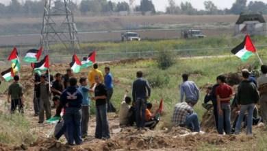 صورة إصابة شاب بجراح برصاص الاحتلال الإسرائيلي شرق خانيونس