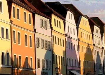Licht und Schatten in Stadtamhof