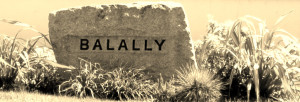 Balally Sign Sepia