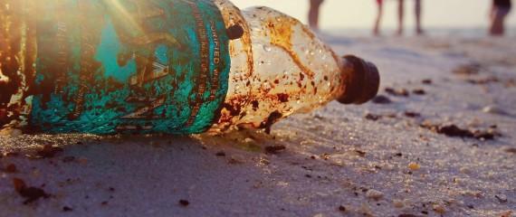 Plastic bottles contain Bisphenol A (BPA)