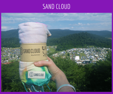 Sand Cloud Towels are useful anywhere!