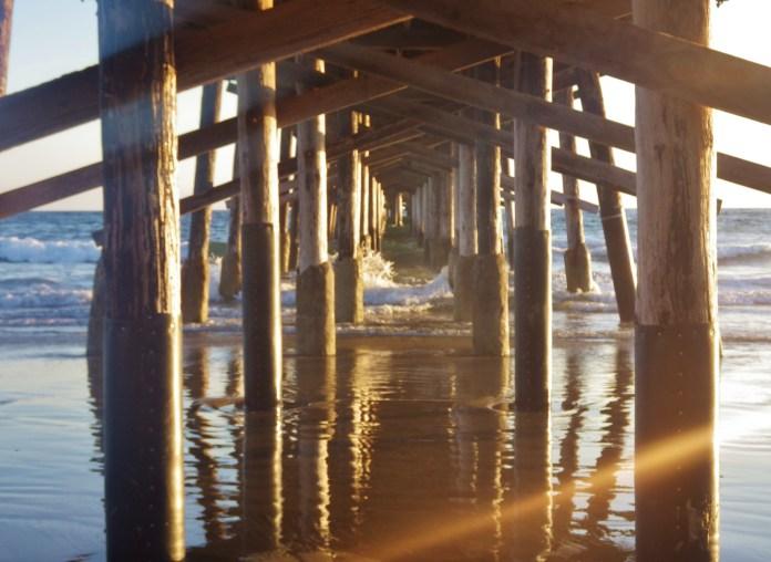 under newport beach pier