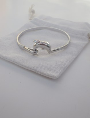 winner Dolphin Bangle Giveaway