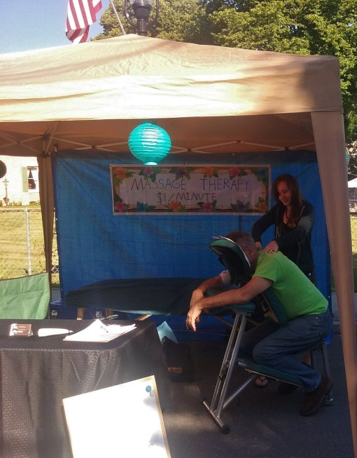 healthy living october massage