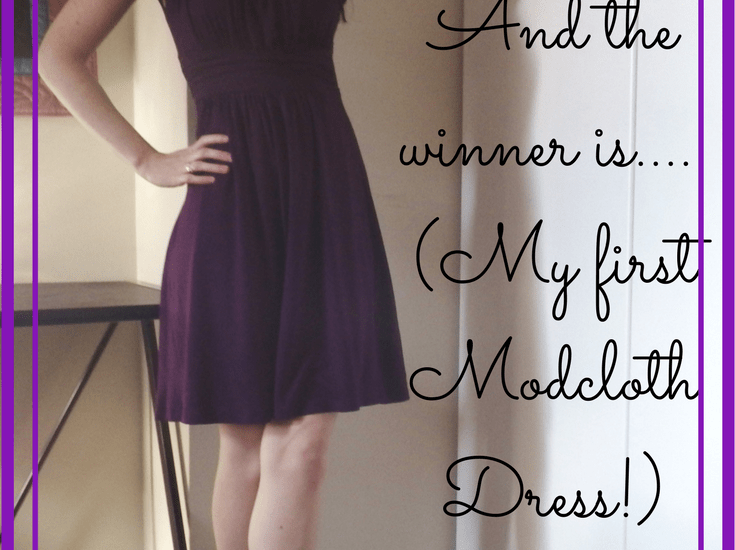 modcloth dress winner