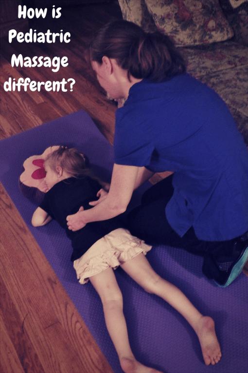 pediatric massage differences