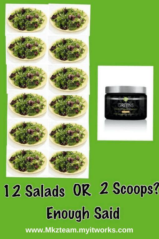 greens verse salads