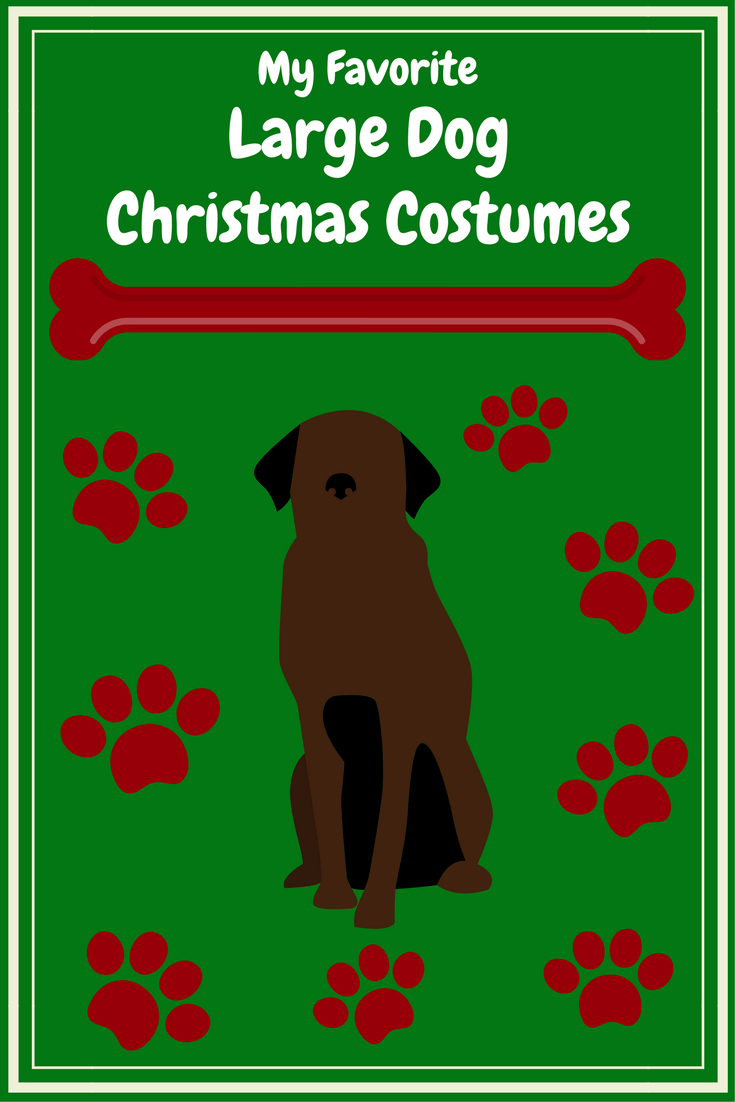 My Favorite Large Dog Christmas Costumes!