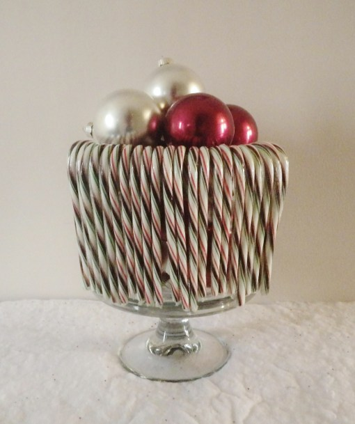 Trifle Bowl Candy canes