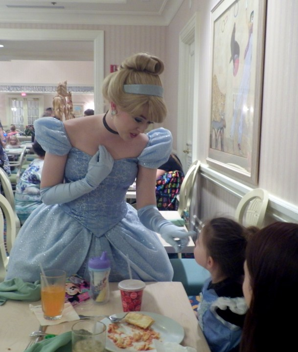 Disney World character dining Cinderella