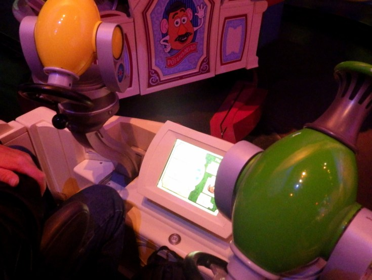 Toy Story Mania guns