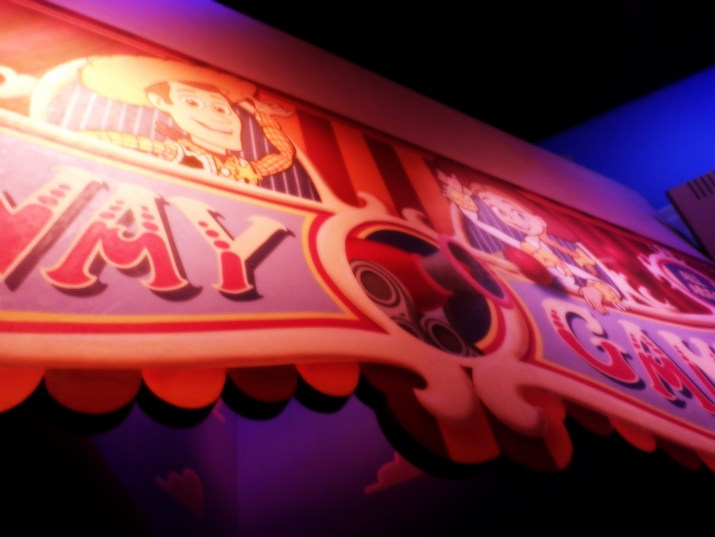 Toy Story Mania banner
