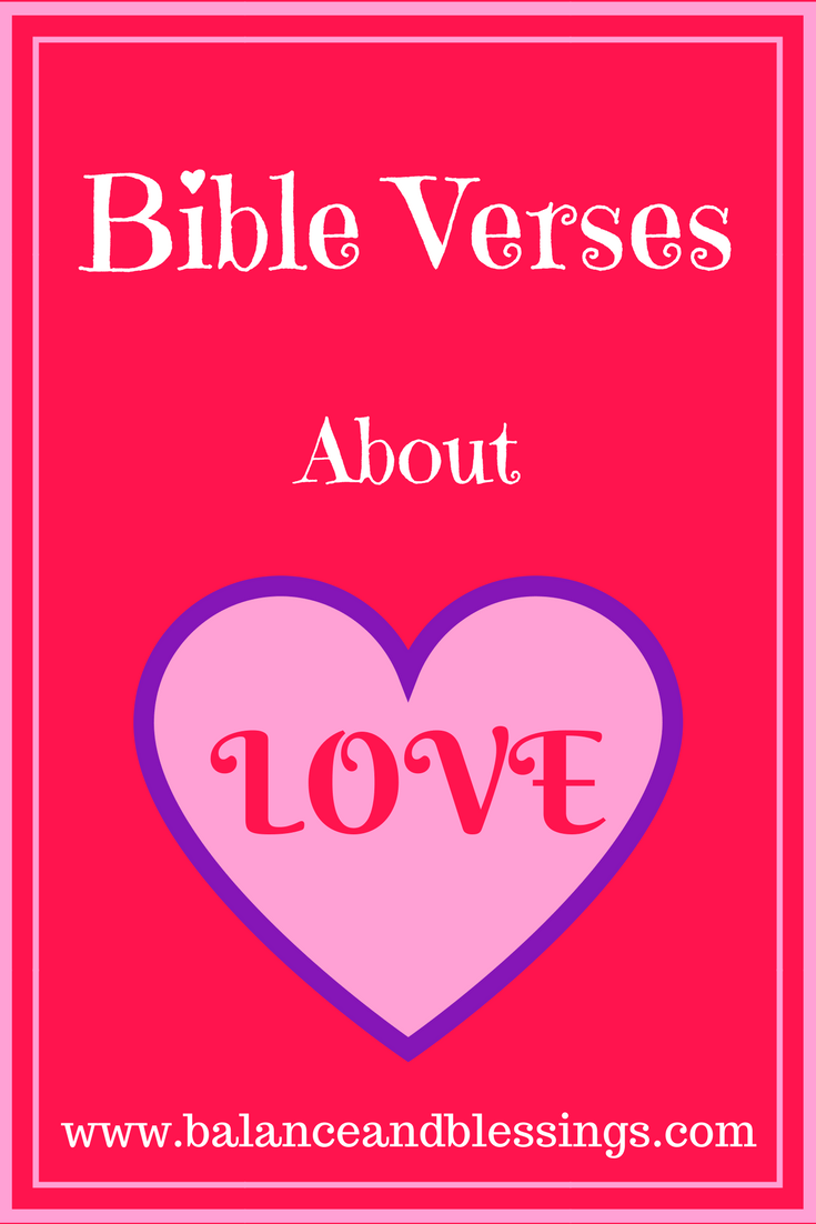 bible verses about love main