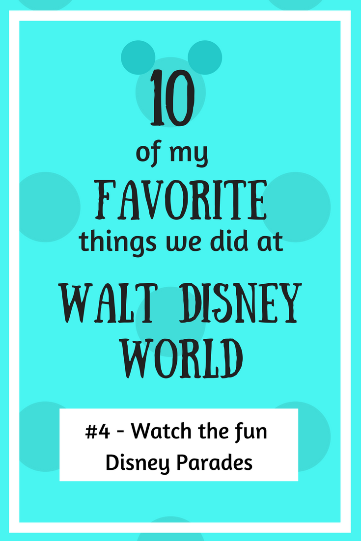 Watch the fun Disney Parades!