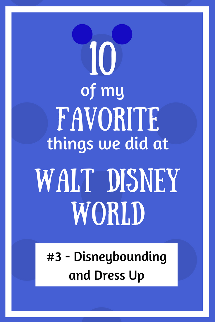 disneybounding and dress up